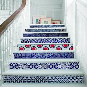 Sắc màu cầu thang tuyệt đẹp