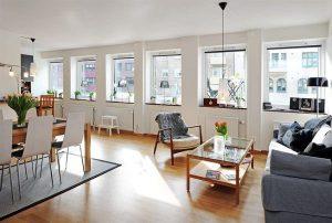 Căn hộ chung cư theo phong cách Thụy Điển