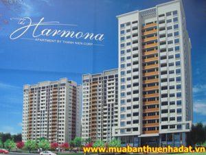 Phối cảnh tổng thể căn hộ Harmona quận Tân Bình