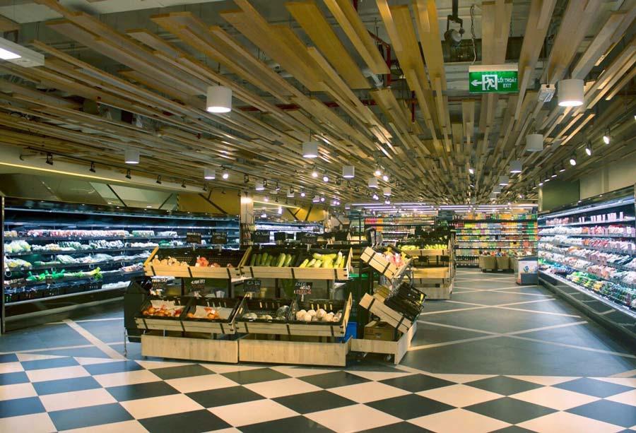 siêu thị romea tại tầng hầm dự án Leman Luxury