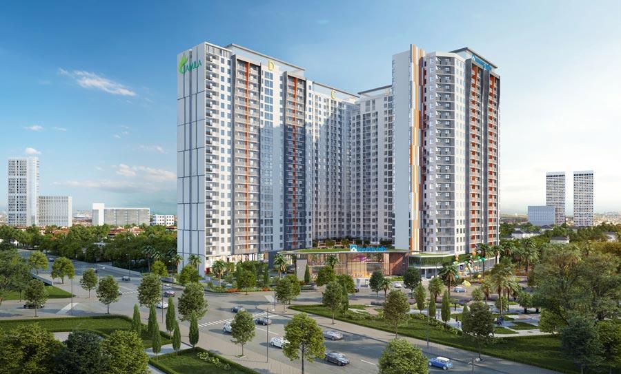 dự án căn hộ Jamila quận 9