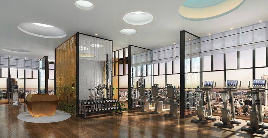 phòng tập Gym trên không D1 Mension Võ Văn Kiệt quận 1