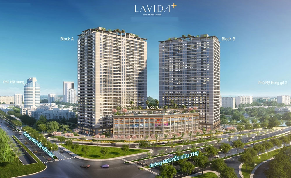 Dự án căn hộ Lavida Plus – Nguyễn Văn Linh quận 7