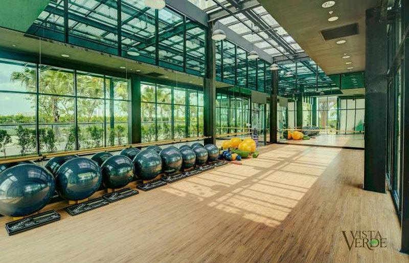 Phòng tập Gym dự án căn hộ Vista Verde Đồng Văn Cống quận 2