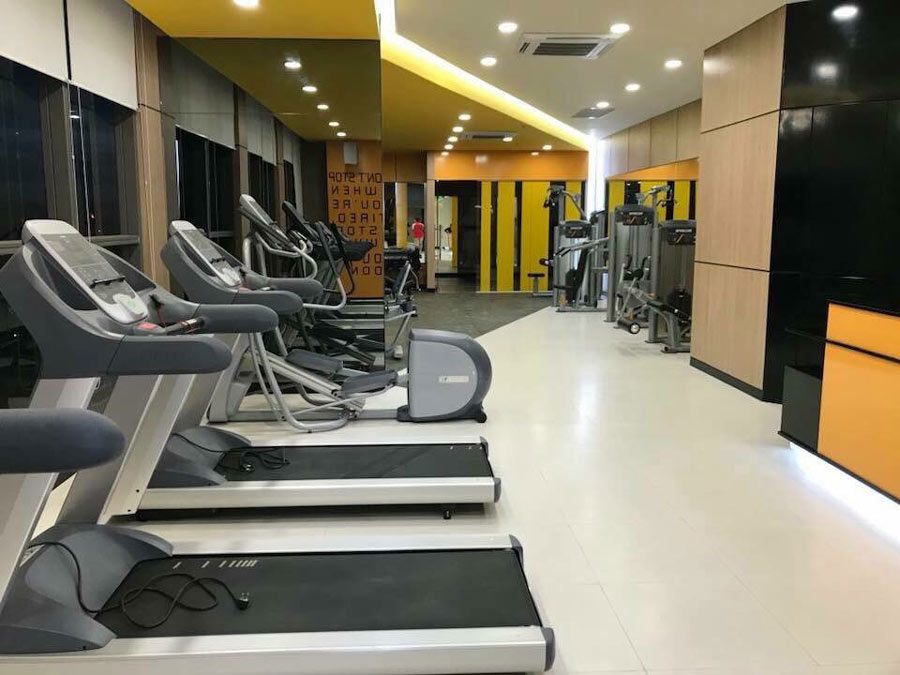 Phòng tập Gym dự án Rivergate Novaland