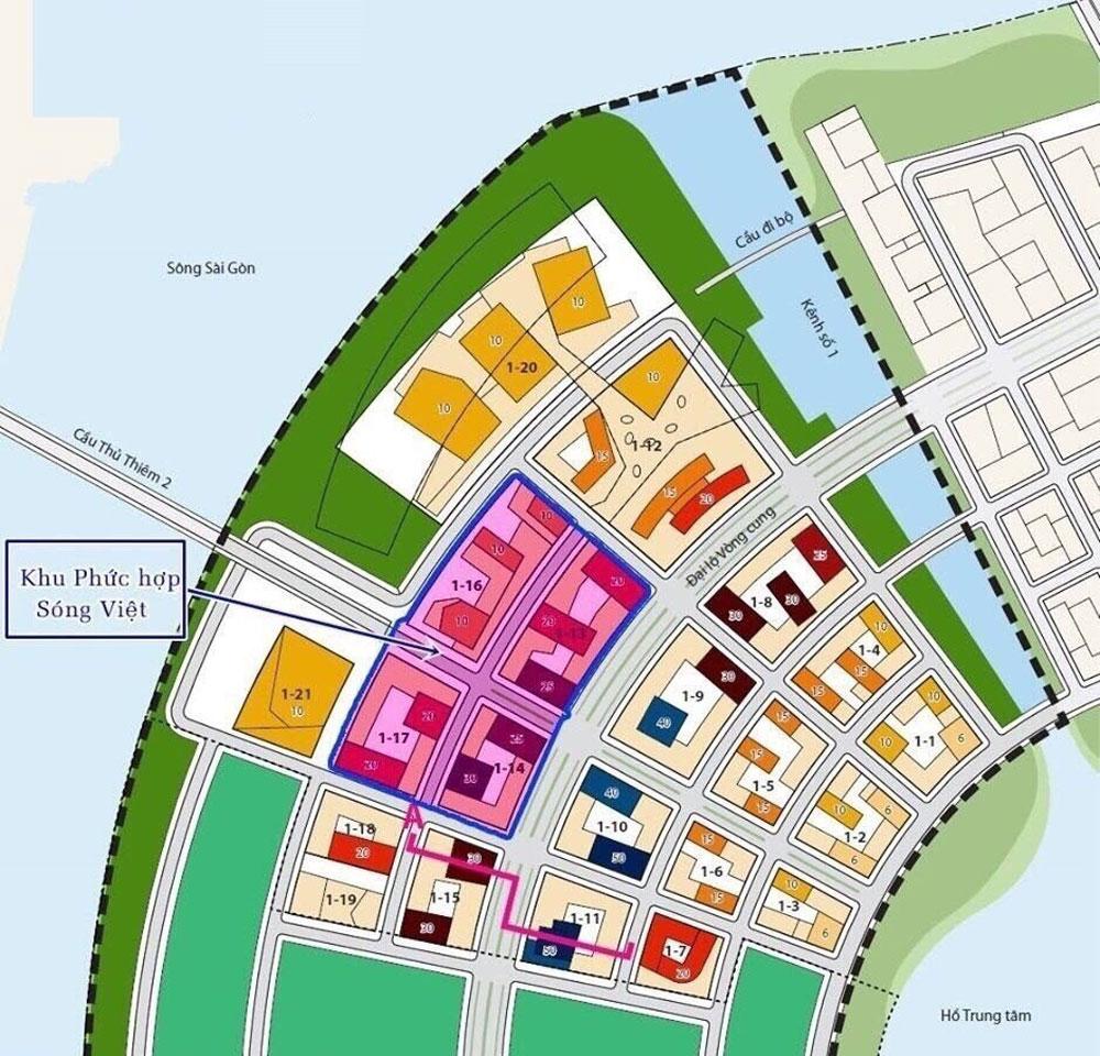 Khu phức hợp sóng việt dự án căn hộ Metropole Thủ Thiêm quận 2