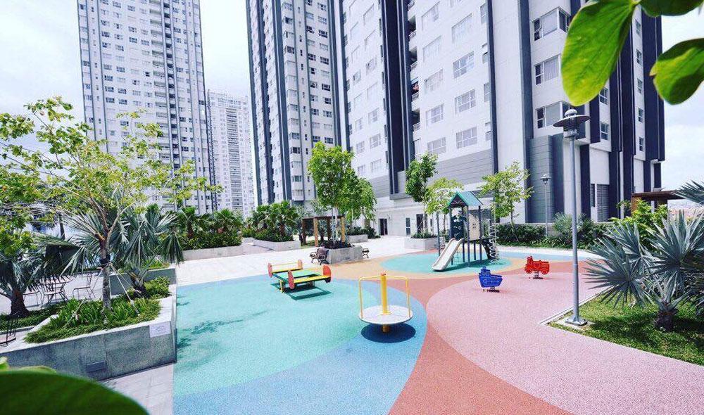 Khu vui chơi trẻ em tại tầng 5 tháp Central dự án Sunrise City quận 7