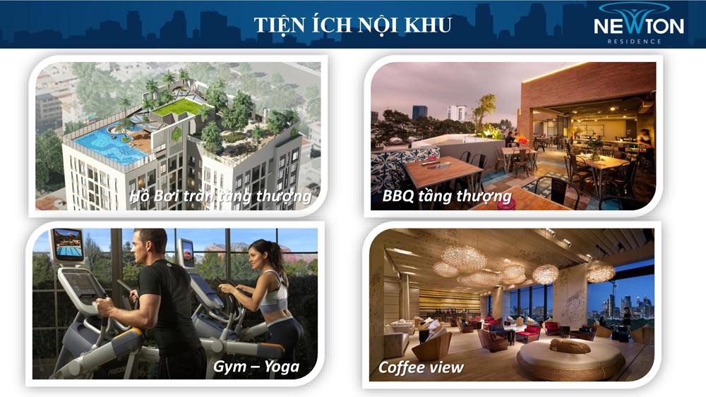 Tiện ích dự án căn hộ Newton Phú Nhuận