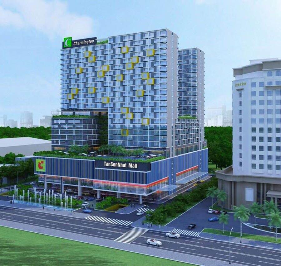 Dự án Charmington Tân Sơn Nhất đường Hoàng Văn Thụ quận Phú Nhuận