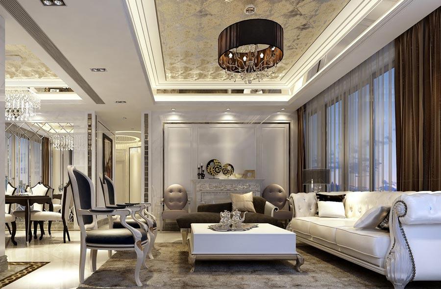 Thiết kế theo phong cách hoàng gia tại căn hộ Grand Central quận 3