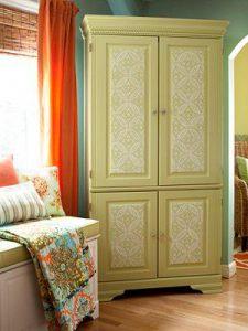 đặt tủ để khắc phục góc kẹt trong nhà