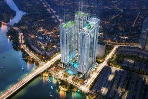 Dự án căn hộ Sunwah Pearl Thủ Thiêm quận Bình Thạnh