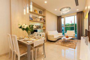 Nhà mẫu phòng ăn căn hộ Hưng Phát 3 quận 7