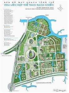 quy hoạch khu thể dục thể thao Rạch Chiếc quận 2