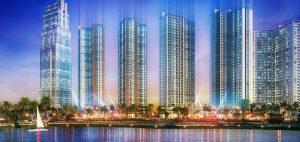 Tổng thể dự án căn hộ Eco Green Sài Gòn tại quận 7 của tập đoàn Xuân Mai