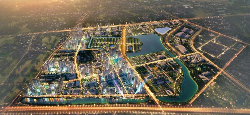 Phối cảnh dự án Vincity Grand Park về đêm