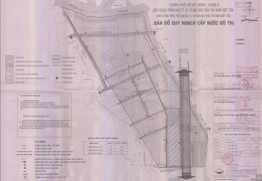 Quy hoạch 1/2000 của quận 2